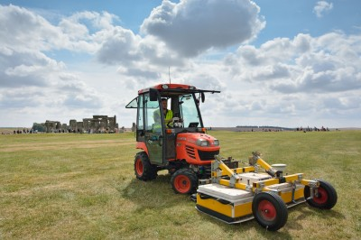 The Hidden Landscapes Team using Ground Penetrating Radar in the Stonehenge Landscape